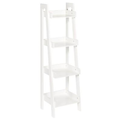 RiverRidge® 4-Tier Ladder Shelf - White