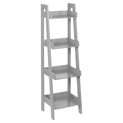 RiverRidge® 4-Tier Ladder Shelf - Gray