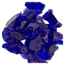 AZ Patio Heaters® Recycled Fire Pit Fire Glass - Cobalt Blue