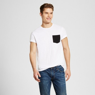 Men's Crew Neck T-Shirt White M - Mossimo Supply Co.™