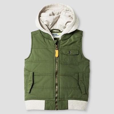 Baby Boys' Fashion Vest - Orchid Leaf 12 M - Genuine Kids™ from Oshkosh®