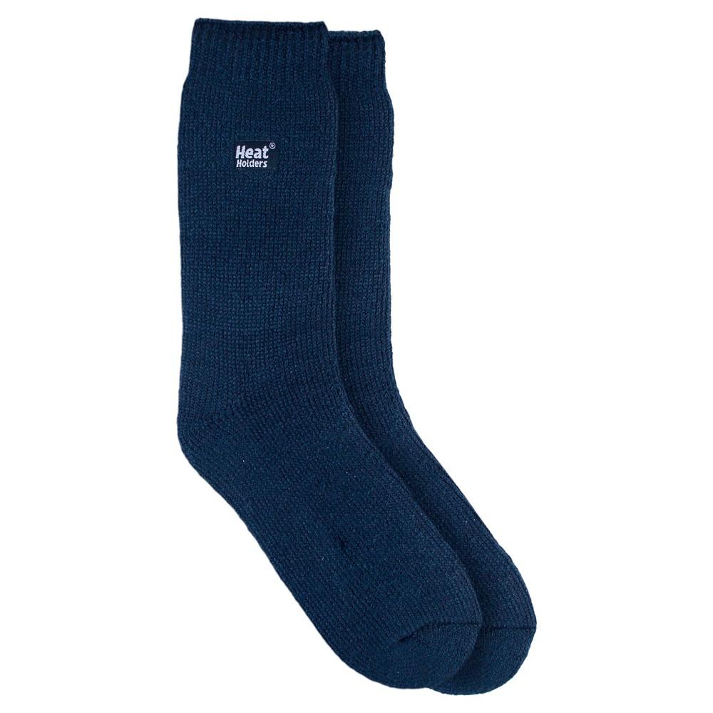 Heat Holders Womens Original Thermal Crew Socks - White 5-9, Blue