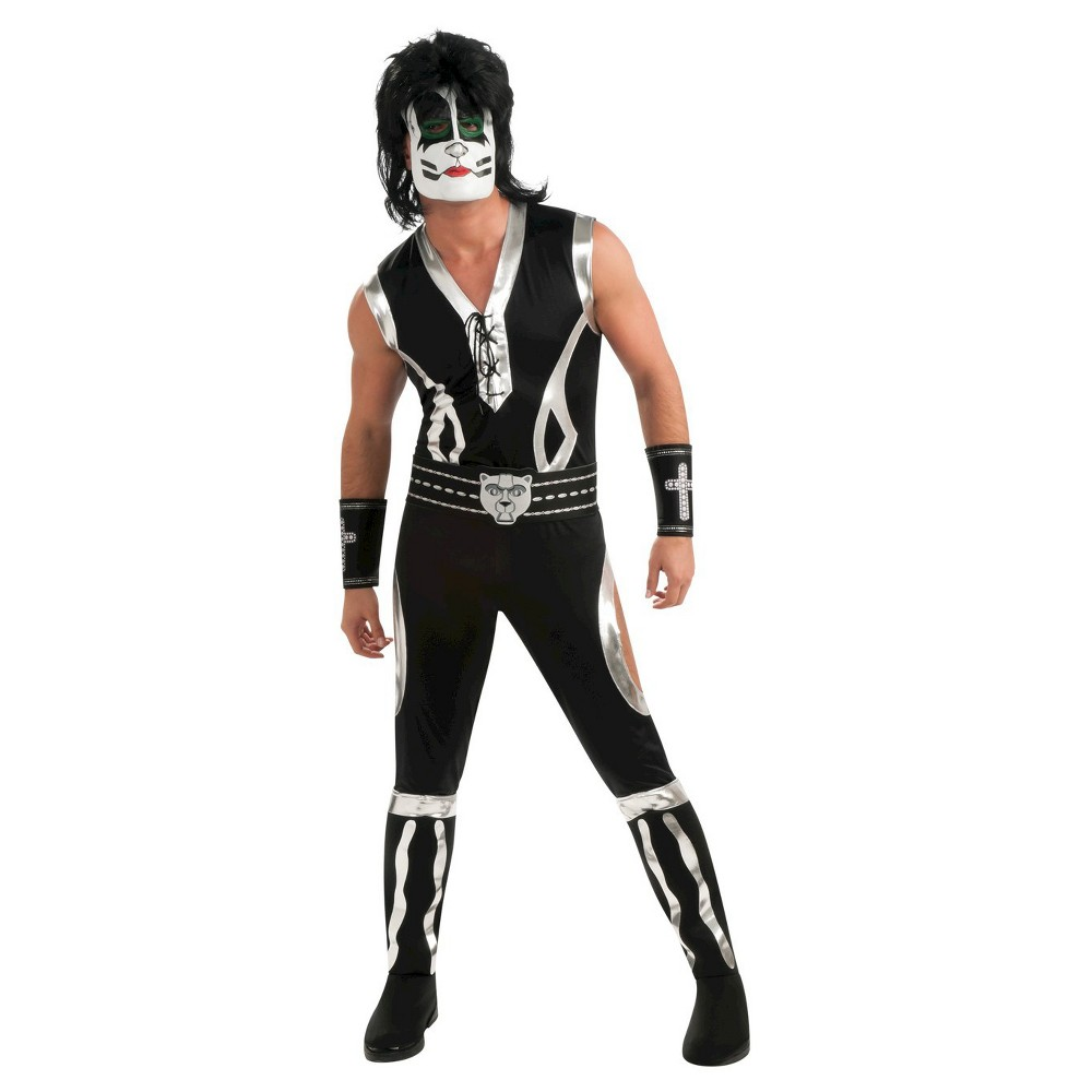 Mens Catman Deluxe Costume X-Large, Size: XL (42-46), Multicolored