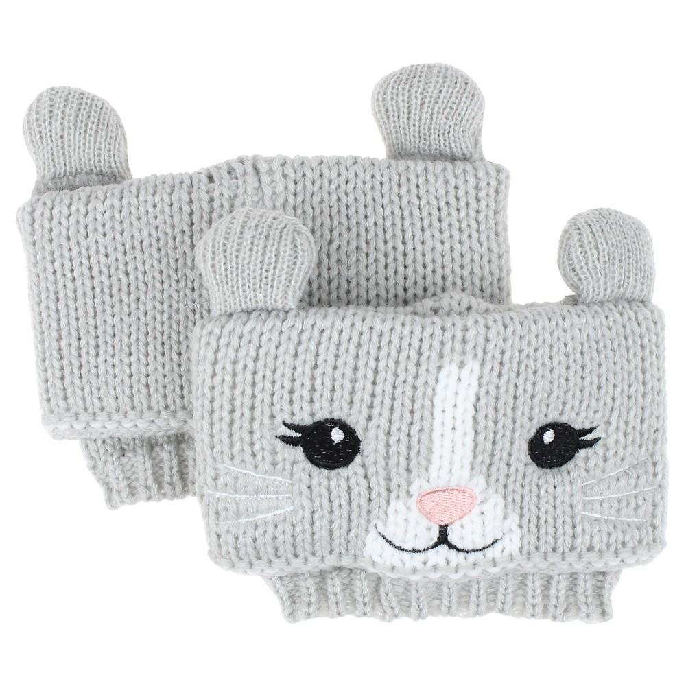 Charlotte Women's Cat Boot Cuff - Gray Combo One Size