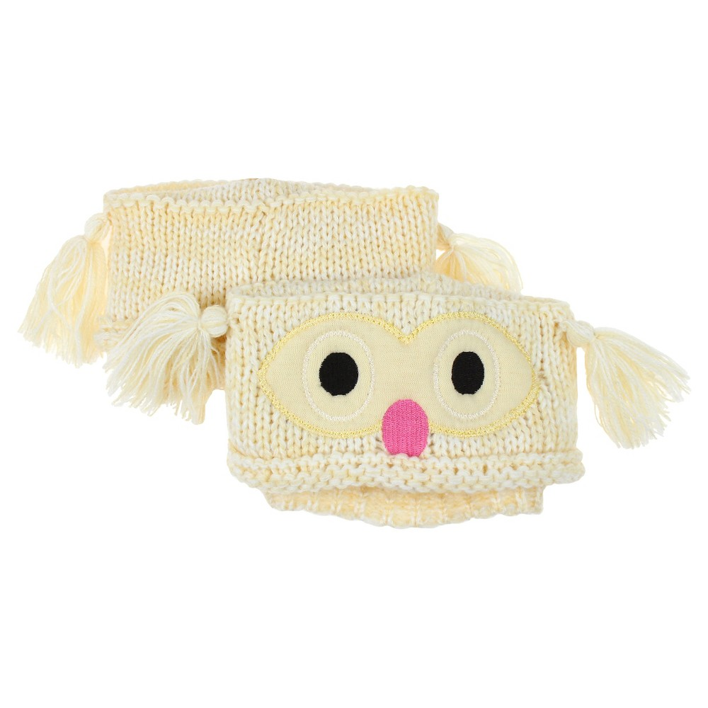Charlotte Womens Owl Boot Cuff - Natural Combo One Size