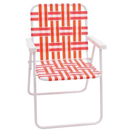 Webstrap Folding Beach Chair Tar