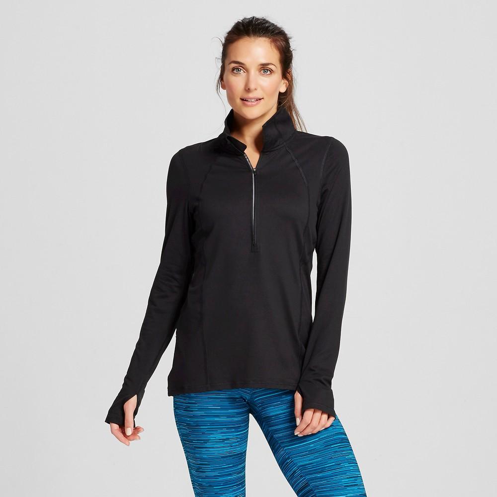 Women's Run Half Zip Pullover - C9 Champion - Black XL