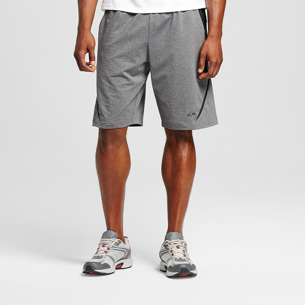 Activewear Shorts - C9 Champion Charcoal Heather S, Mens