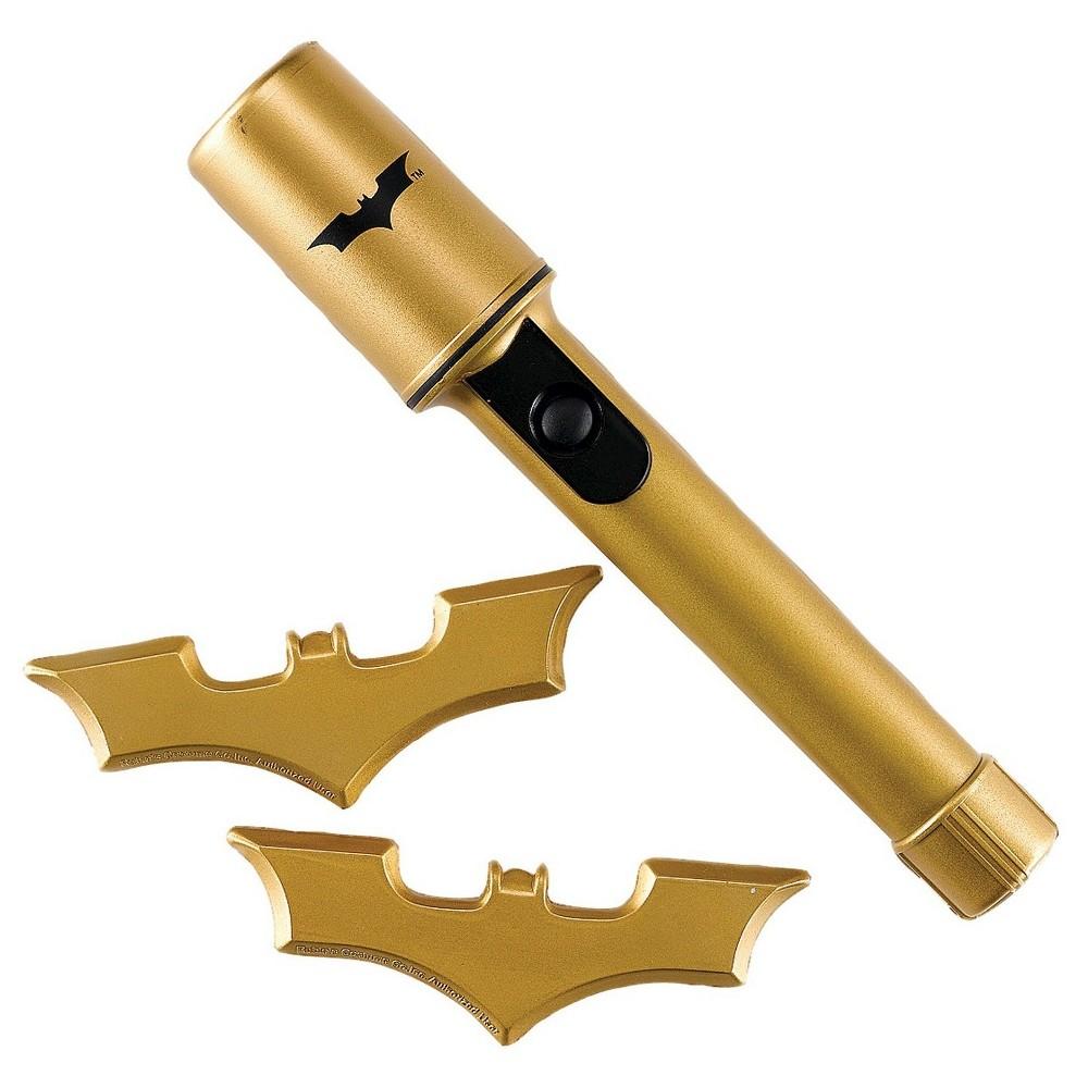 Halloween DC Comics Batman Batarangs and Safety Light Gold, Boys