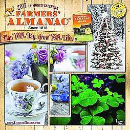 Farmers 39 Almanac 2017 Calendar Paperback Target