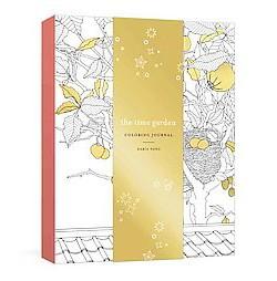 Time Garden Coloring Journal