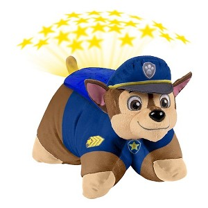 Paw Patrol Chase Dream Lites Nightlight Multicolor - Pillow Pets, Multi-Colored