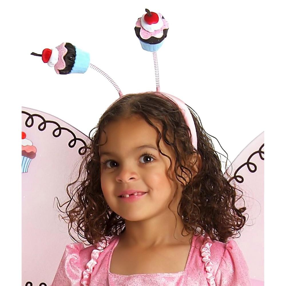 Halloween Cupcake Fairy Child Headband - One Size Fits Most, Girls, Pink