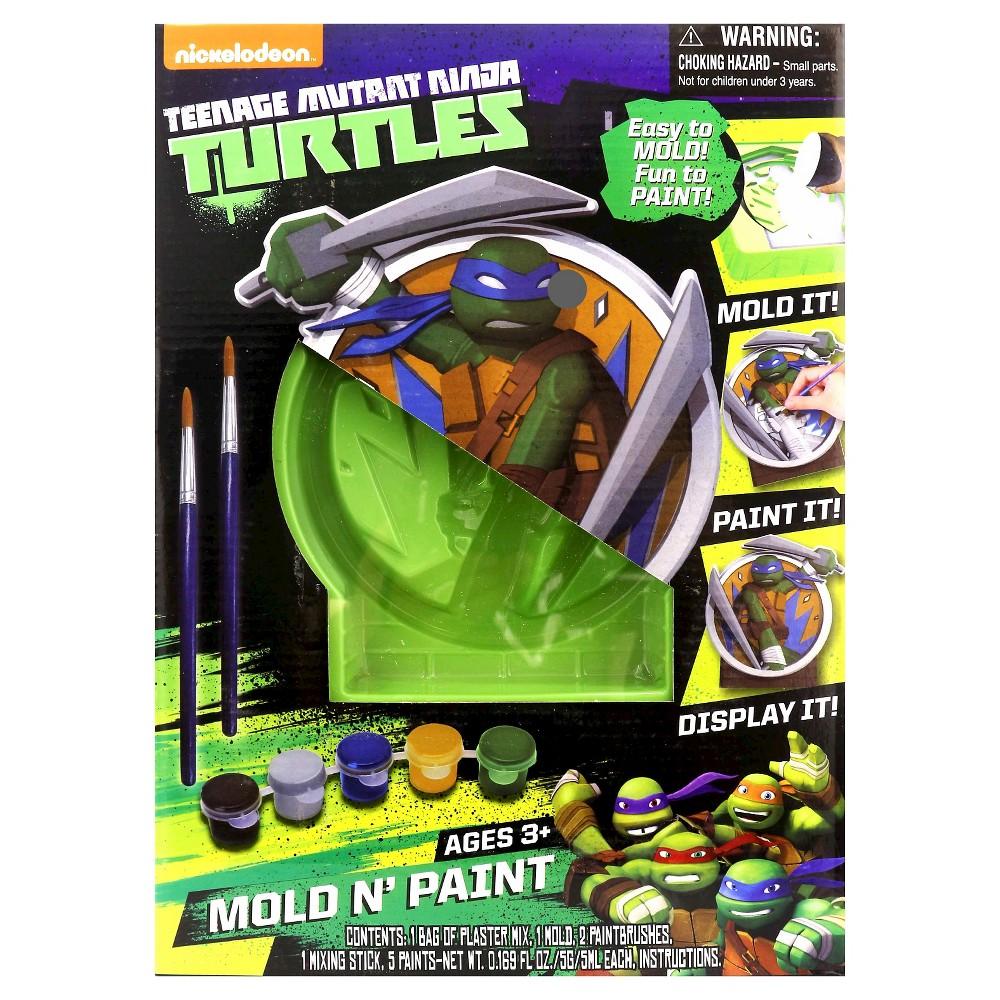 Teenage Mutant Ninja Turtles Mold N Paint Casting Kit