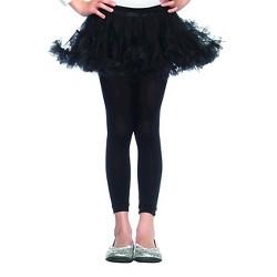 Kids' Petticoat Costume Black S/M