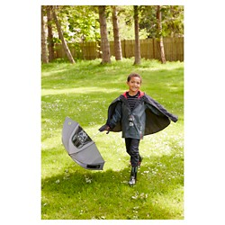 Star Wars Toddler Boy Darth Vader Rain Accessory Collections - Charcoal