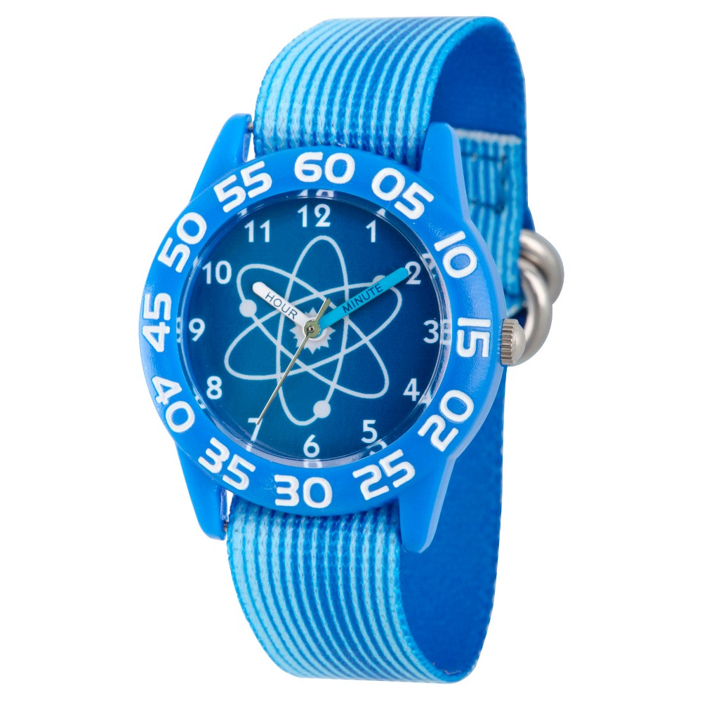Boys' Discovery Channel Plastic Time Teacher Watch - Blue