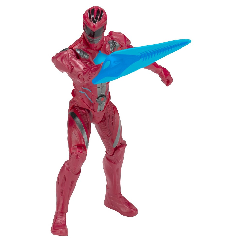 Power Ranger Figures Movie Action Hero- Red Ranger Figure