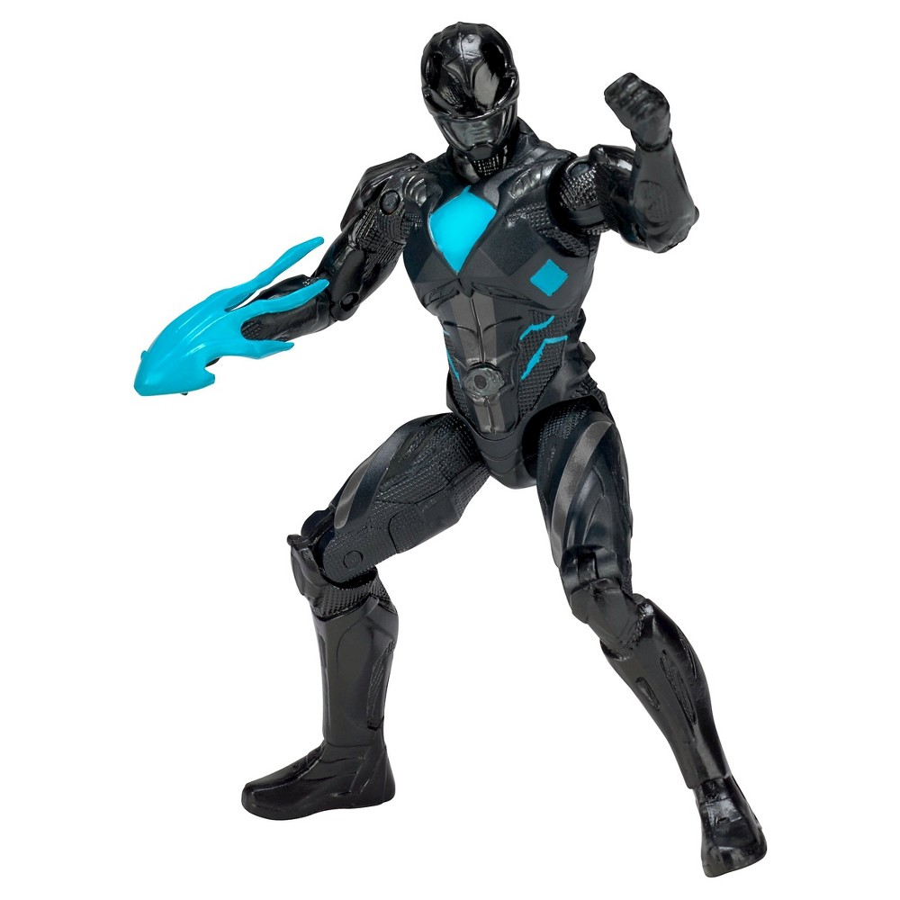 Power Ranger Figures Movie Action Hero - Black Ranger Figure