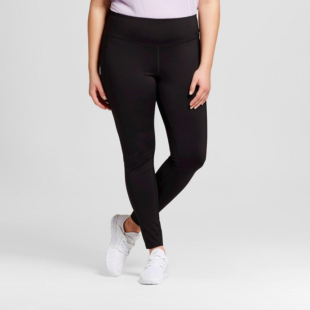 Womens Plus-Size Embrace Leggings - C9 Champion Black 1X