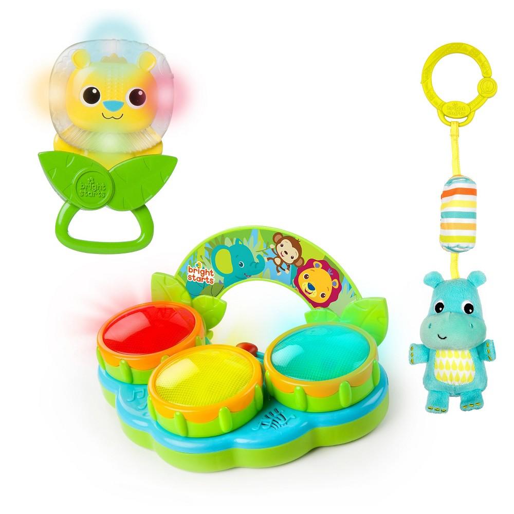 Bright Starts Jingle and Glow Safari Gift Set