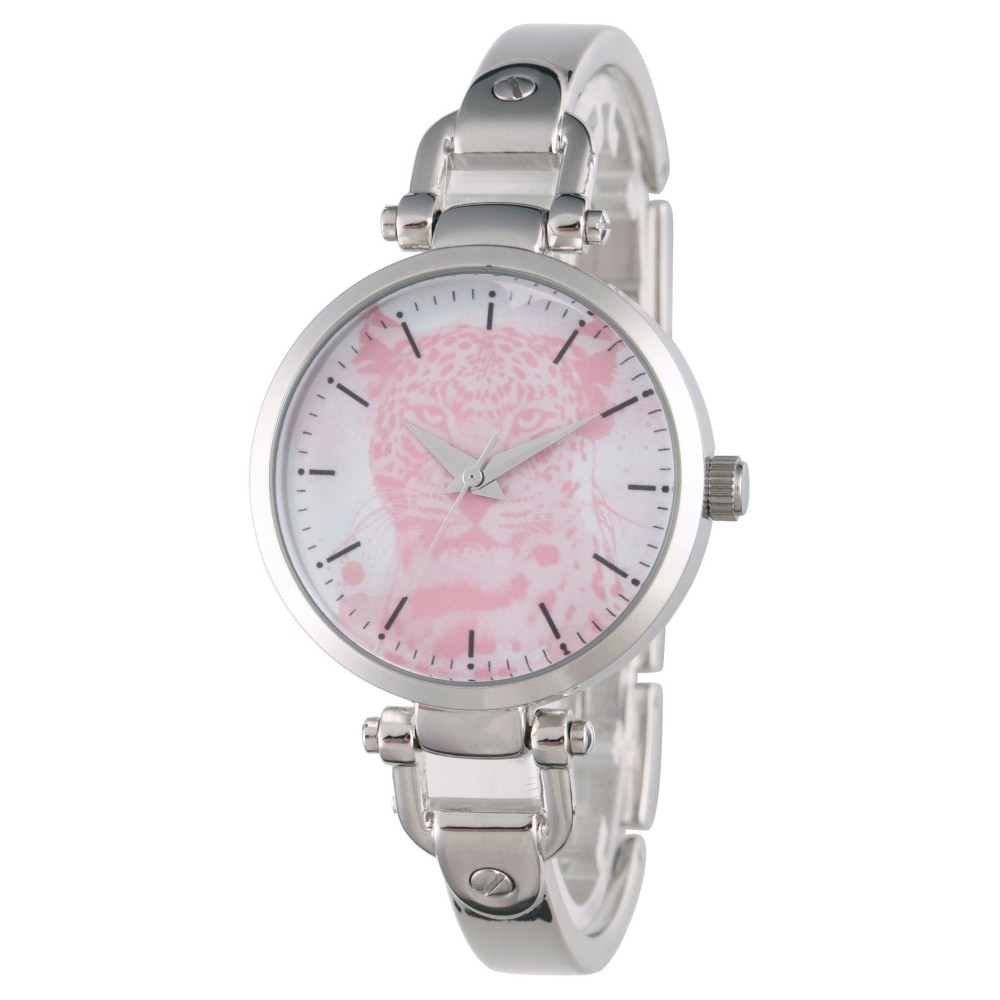 Womens Discovery Channel Animal Planet Silver Alloy Bridle Watch - Silver