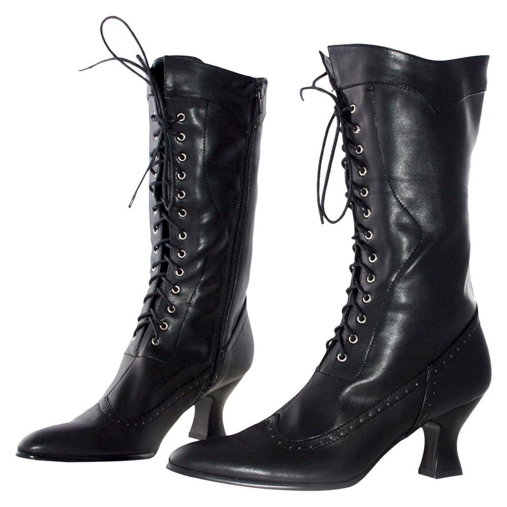 Halloween Womens Amelia Boots Black - Size 8