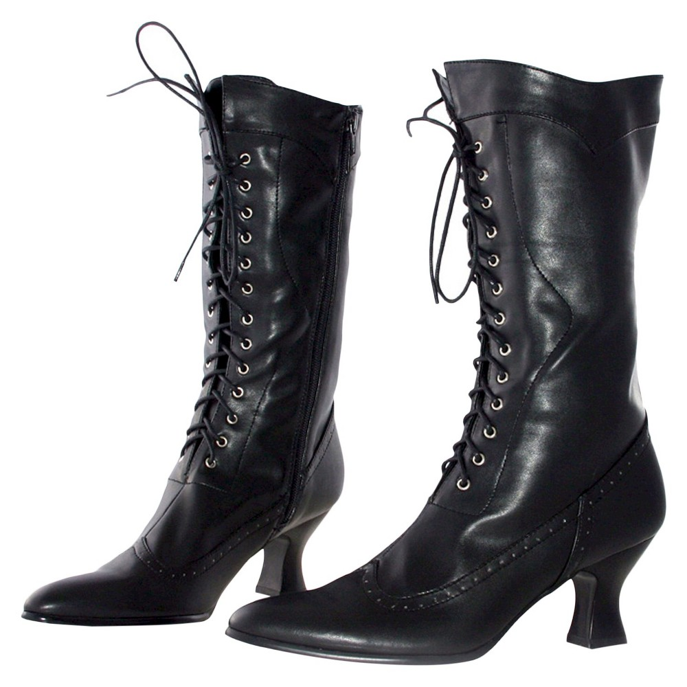 Halloween Womens Amelia Boots Black Size 10