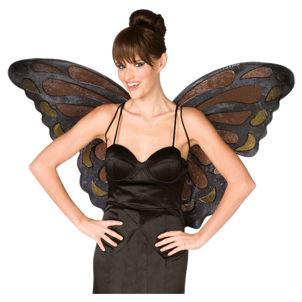 Halloween Monarch Butterfly Wings Adult, Womens, Orange