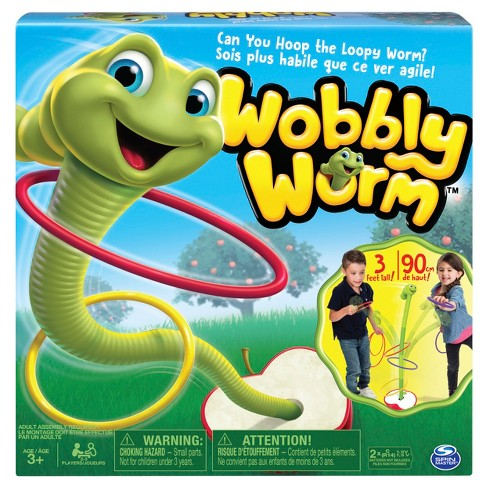 Spin Master Games Wobbly Worm, Ring Toss Game - image 1 of 8
