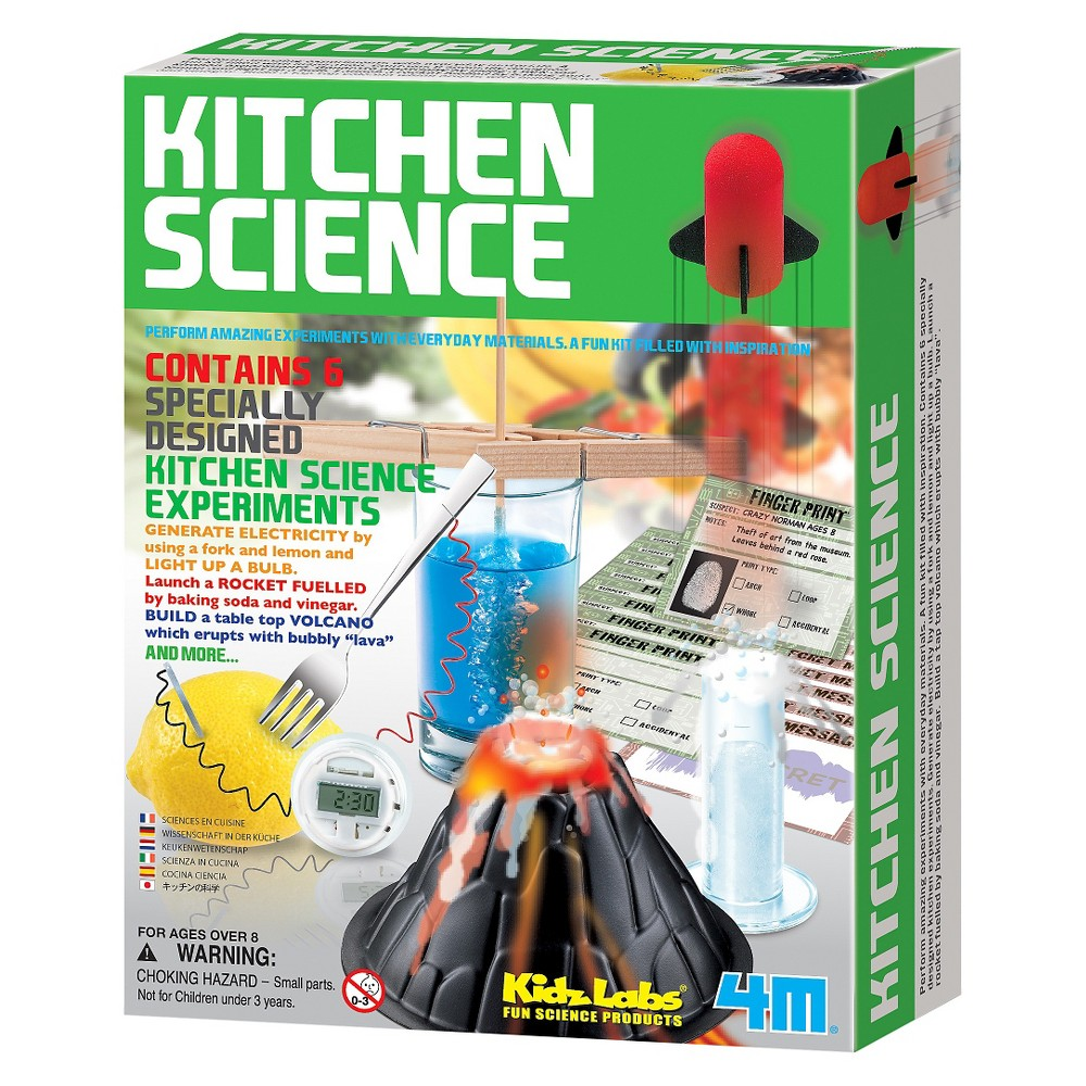 4M Kitchen Science Kit, Chemistry Kits