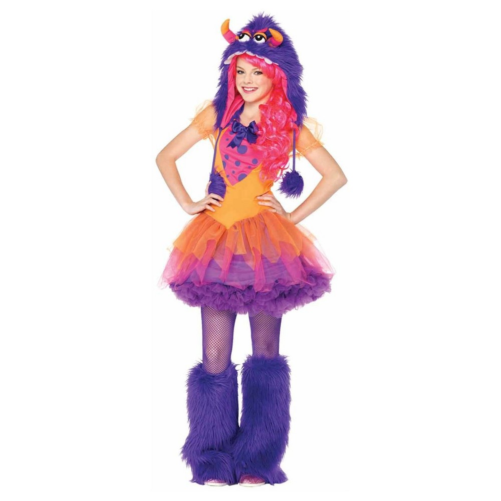Girls Furrrocious Frankie Teen Costume Large, Size: L (12-14), Multicolored