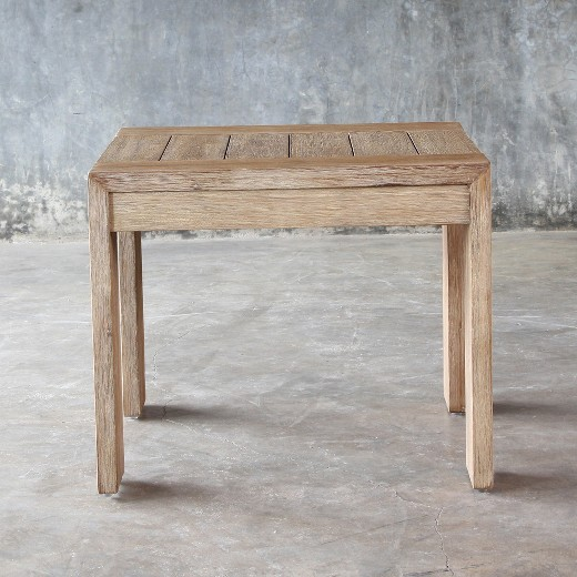 Montpelier Wood Patio Side Table - Smith & Hawken : Target