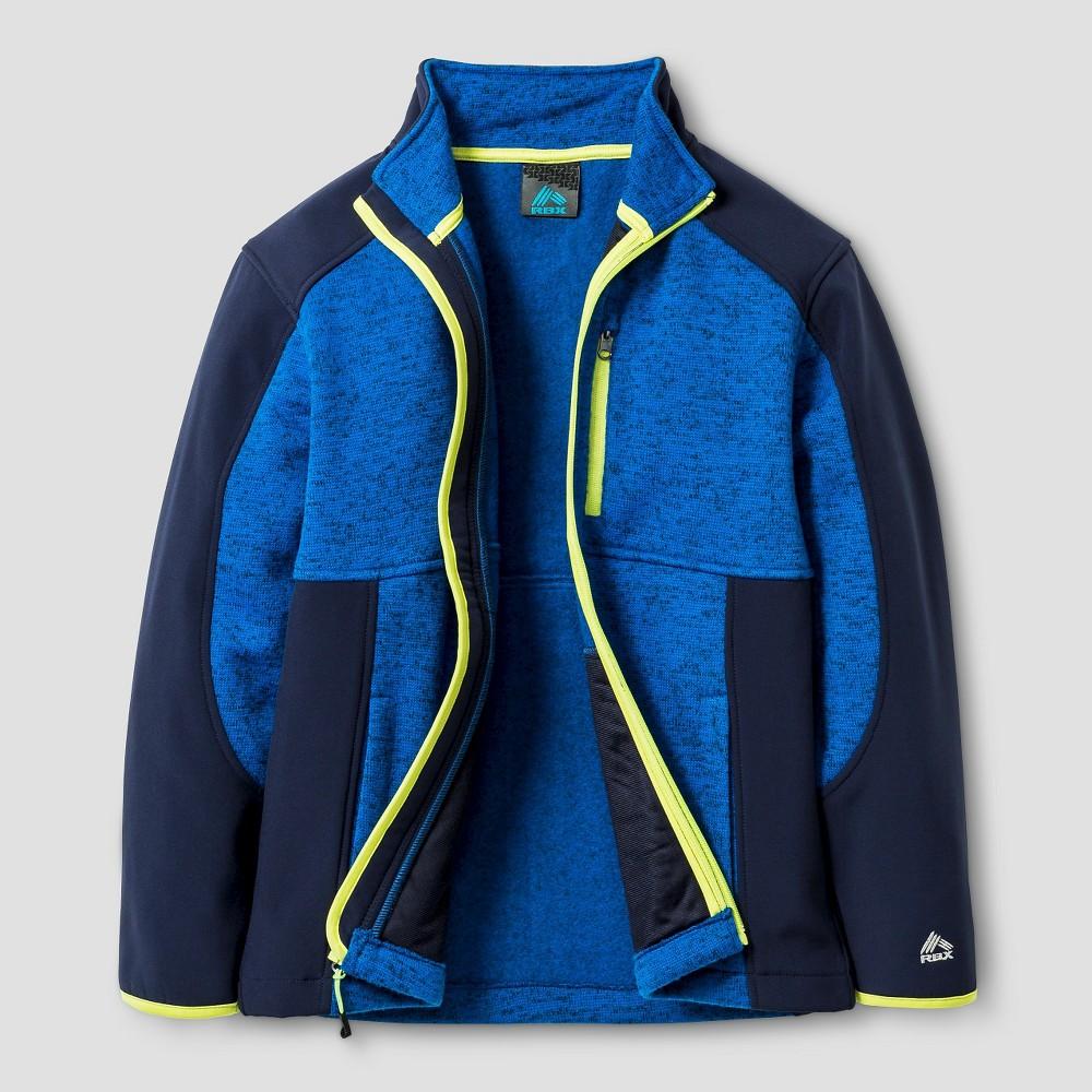 Rbx Boys Sweater Fleece Jacket XL - Blue