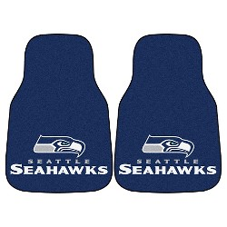 NFL Fan Mats 2pc Carpet Car Mat Set