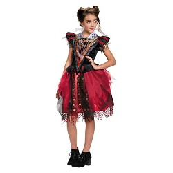 Girls' Alice Through the Looking Glass: Red Queen Tween Costume