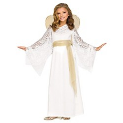 Girls' Angelic Maiden Costume Medium