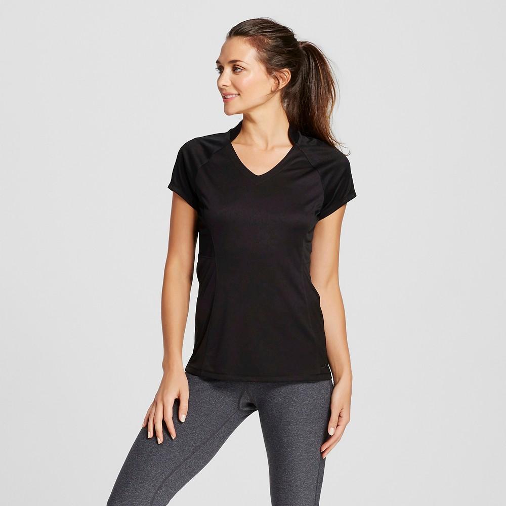 Womens Golf Short Sleeve Top - C9 Champion Black XL