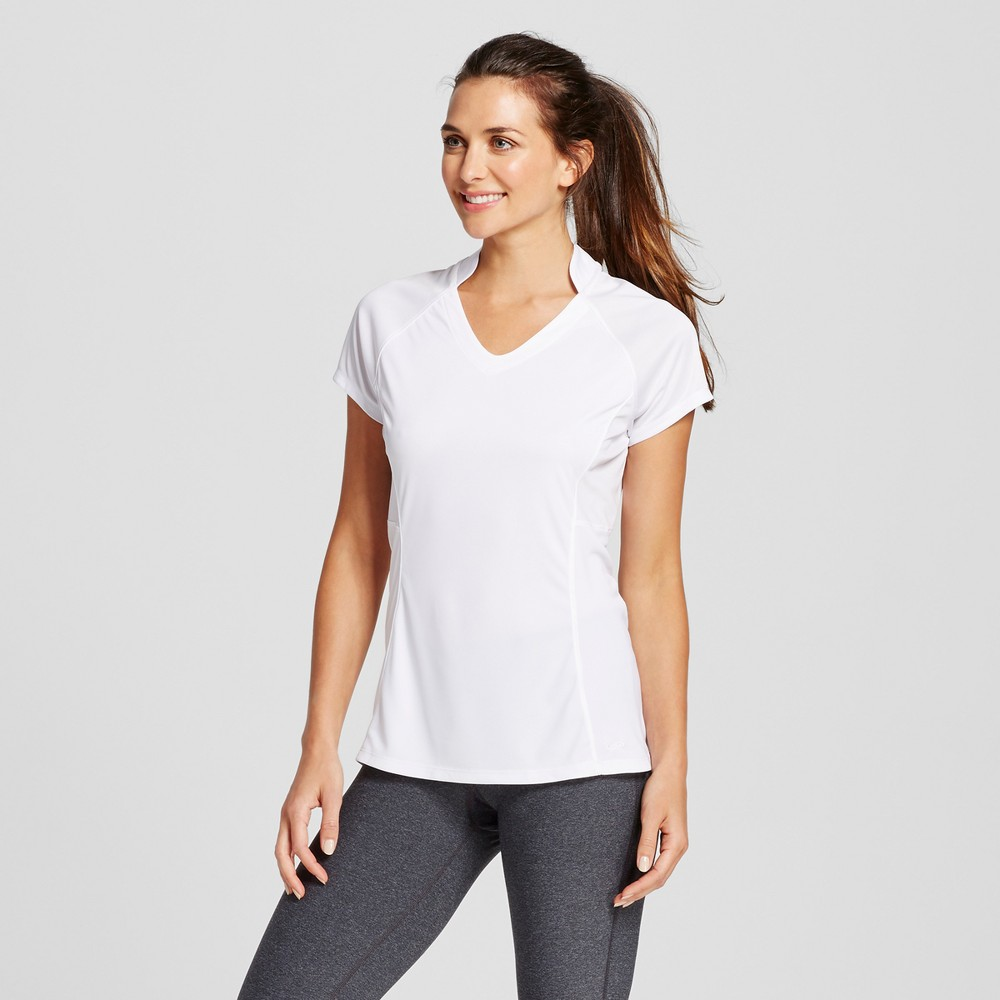 Womens Golf Short Sleeve Top - C9 Champion White M