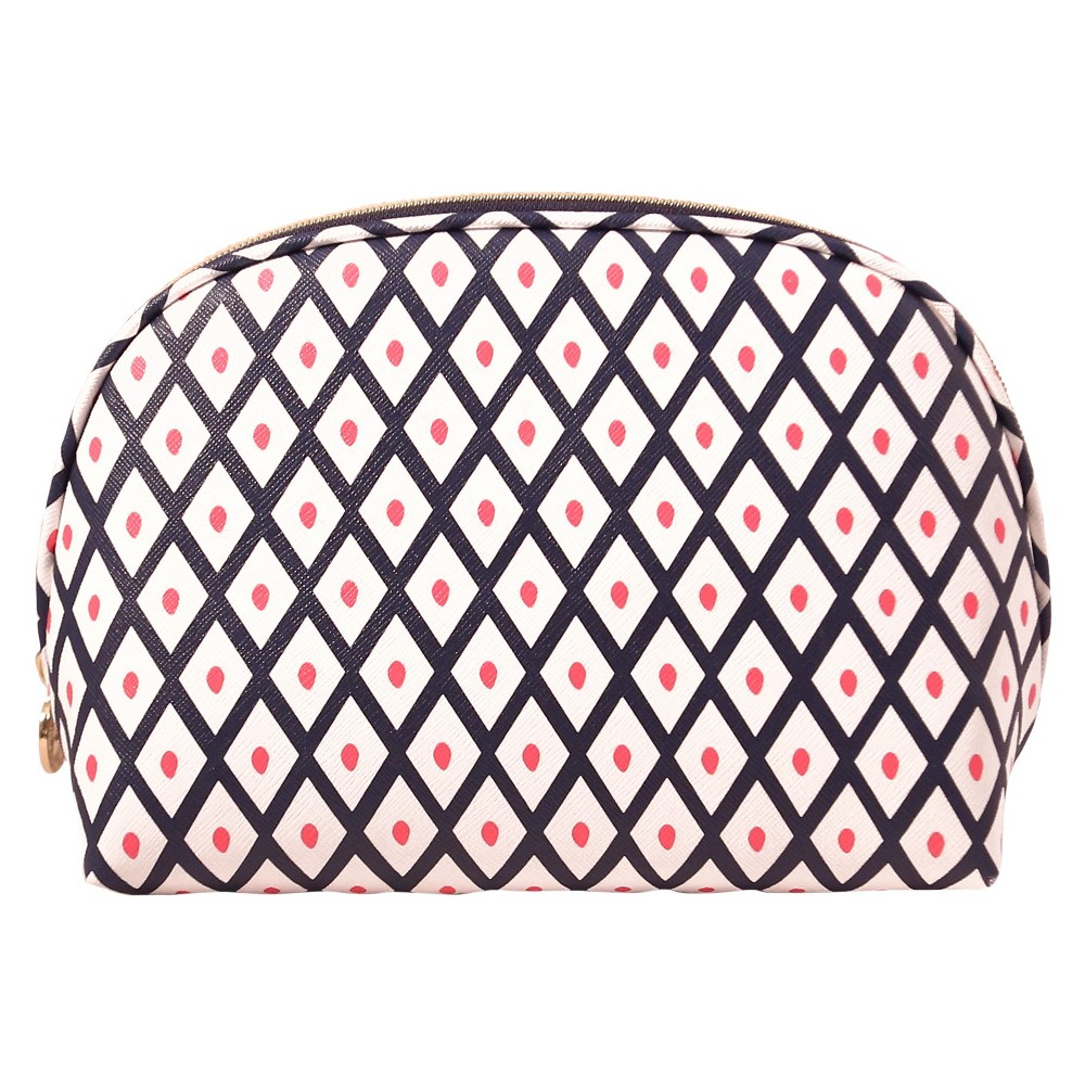 Dabney Lee Diamonds Round Top Makeup Bag, Multi-Colored