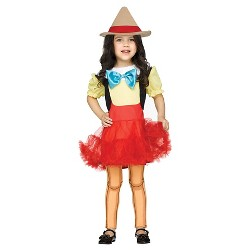 Pinocchio Girl Doll Toddler Costume