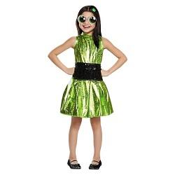 Girls' Powerpuff Buttercup Deluxe Costume