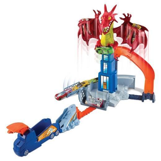 hot wheels dragon blast playset instructions