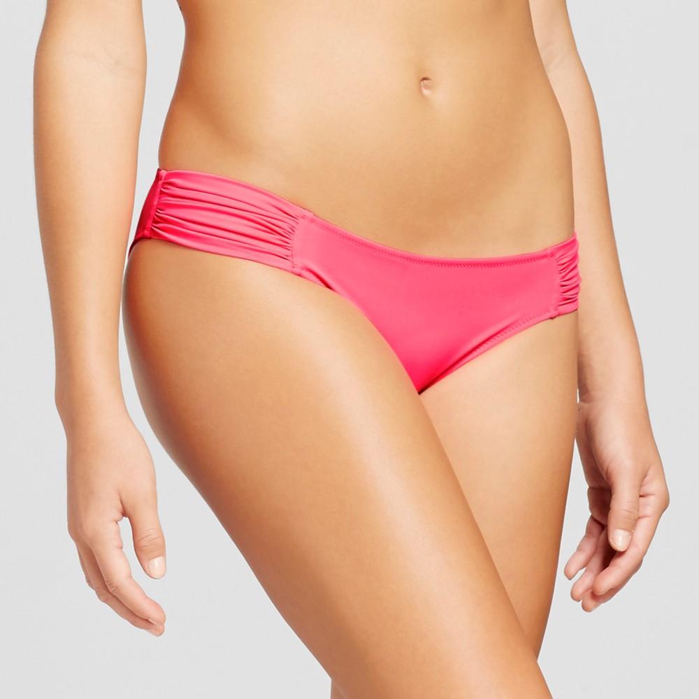 Womens Beach Hipster Bikini Bottom - Shade & Shore Coral Rose XS