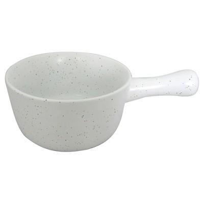 Large Soup Bowl 18oz Stoneware True White - Threshold™