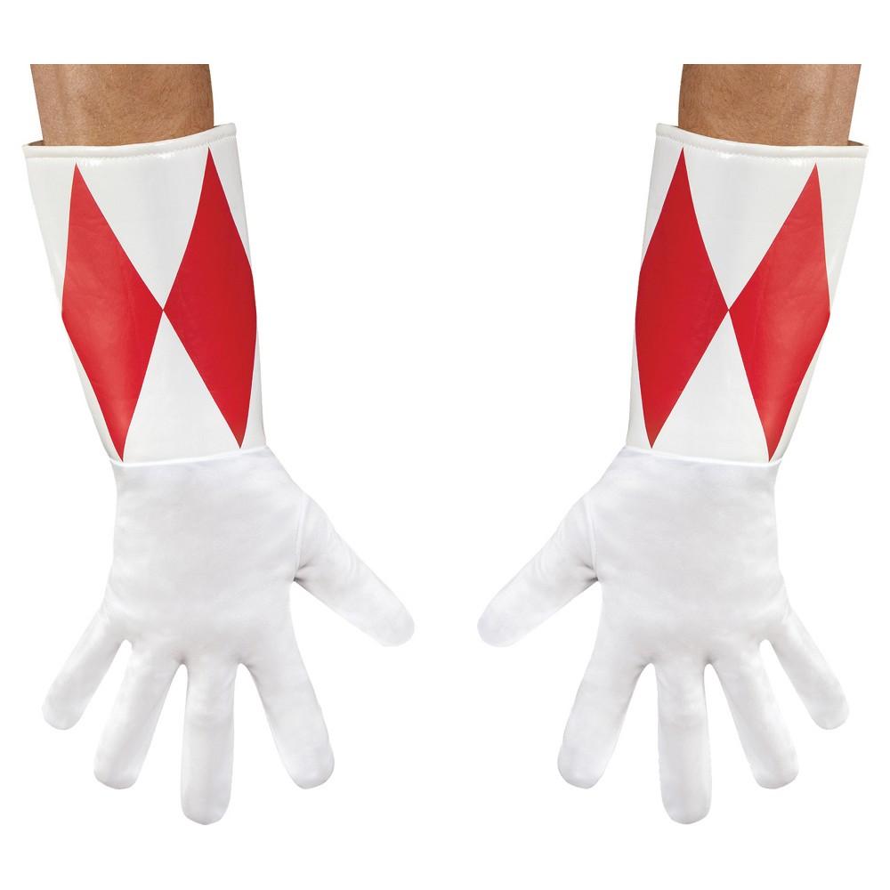 Red Ranger Adult Gloves, Mens, Multi-Colored