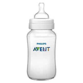 Philips Avent Anit-colic Baby Bottle Clear 11oz 3pk - Clear