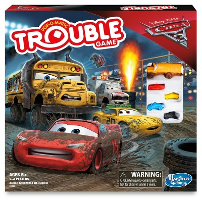 Trouble Game: Disney/Pixar Cars 3 Edition