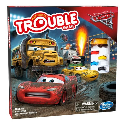 Trouble Cars 3 Lightning McQueen Board Game  sc 1 st  Target & Trouble Cars 3 Lightning McQueen Board Game : Target azcodes.com