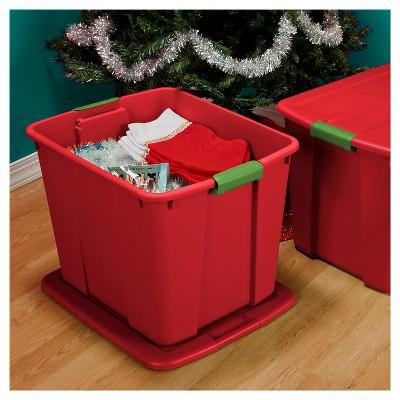 Sterilite® 20 Gal Storage Tote - Holiday Red & Sterilite® 20 Gal Storage Tote u2013 Holiday Red u2013 Target Inventory ...